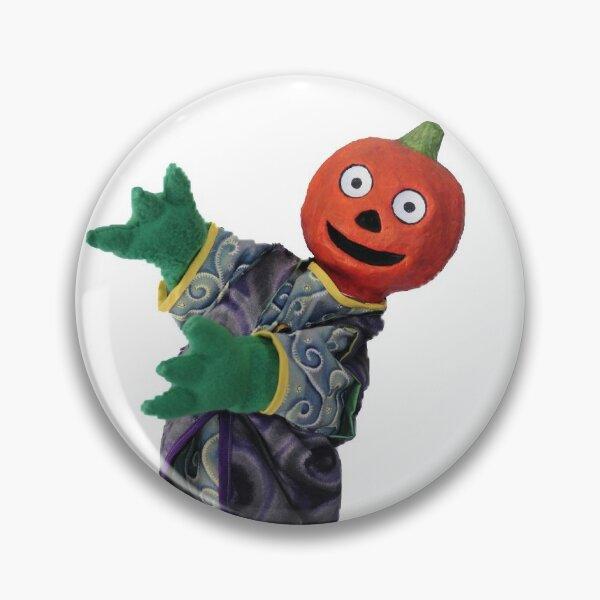 Wump Mucket Puppets Gourdon the Pumpkinman merchandise Pin