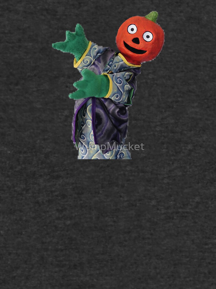 Wump Mucket Puppets Gourdon the Pumpkinman merchandise by WumpMucket
