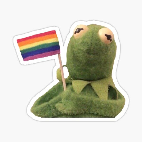 kermit pride Sticker