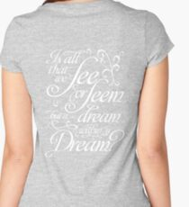 Dream within a Dream Women's Fitted Scoop T-Shirt