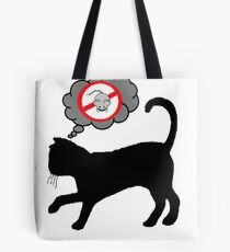 Cats have dark thoughts Tote Bag