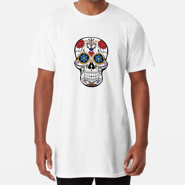 skull product T-shirt long