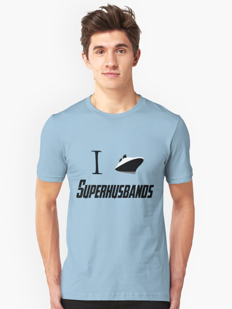 I ship Superhusbands! Unisex T-Shirt Front