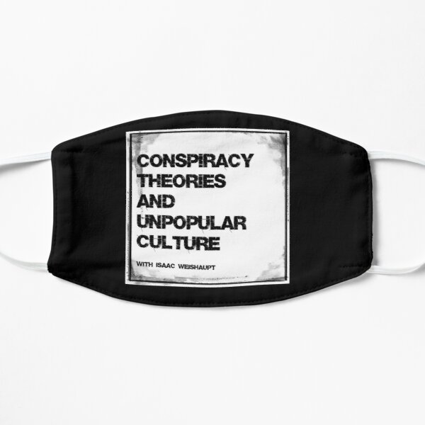 Conspiracy Theories & Unpopular Culture Podcast Mask