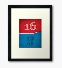 2016 Elections Framed Print