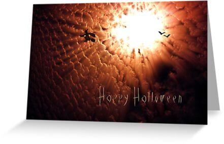Happy Halloween - Greeting card by Scott Mitchell