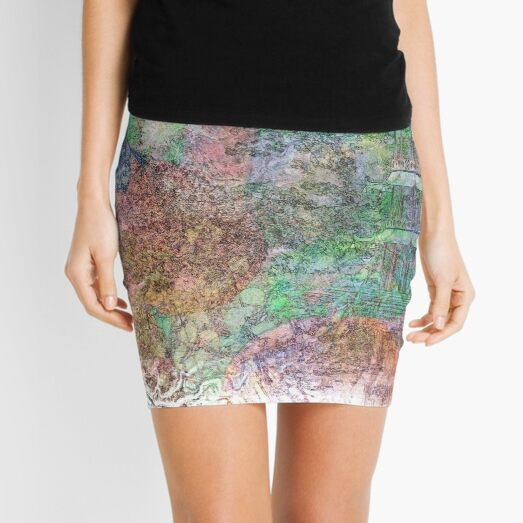 The Atlas Of Dreams - Color Plate 26 Mini Skirt