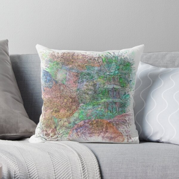 The Atlas Of Dreams - Color Plate 26 Throw Pillow
