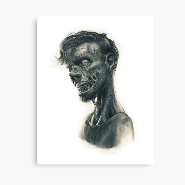 Zombiekid Canvas Print