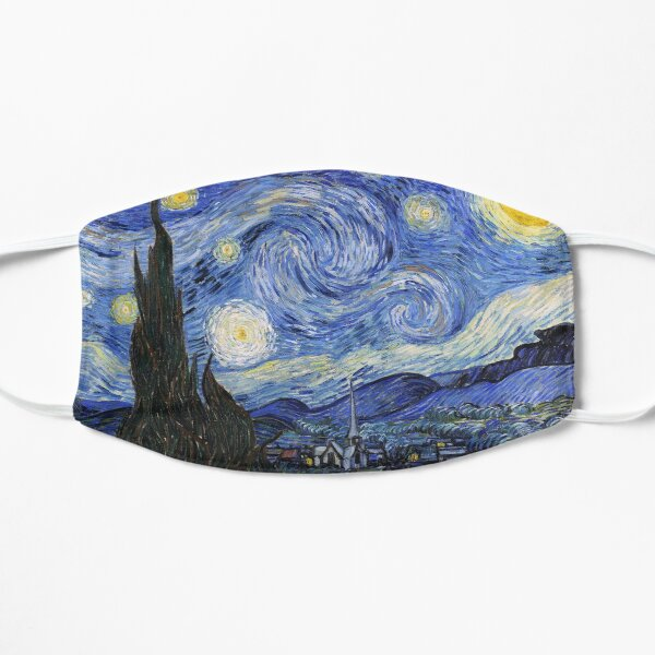 Starry Night Gifts - Vincent Van Gogh Classic Masterpiece Painting Gift Ideas for Art Lovers of Fine Classical Artwork from Artist Mask