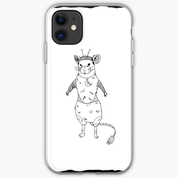Robo Rat iPhone Soft Case