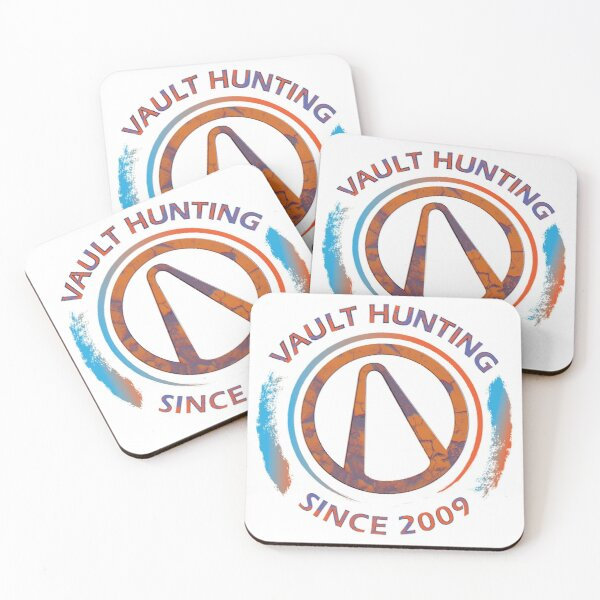 Borderlands Vault Hunting  Coasters (Set of 4)