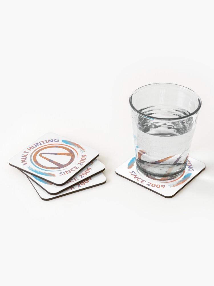 Alternate view of Borderlands Vault Hunting  Coasters (Set of 4)