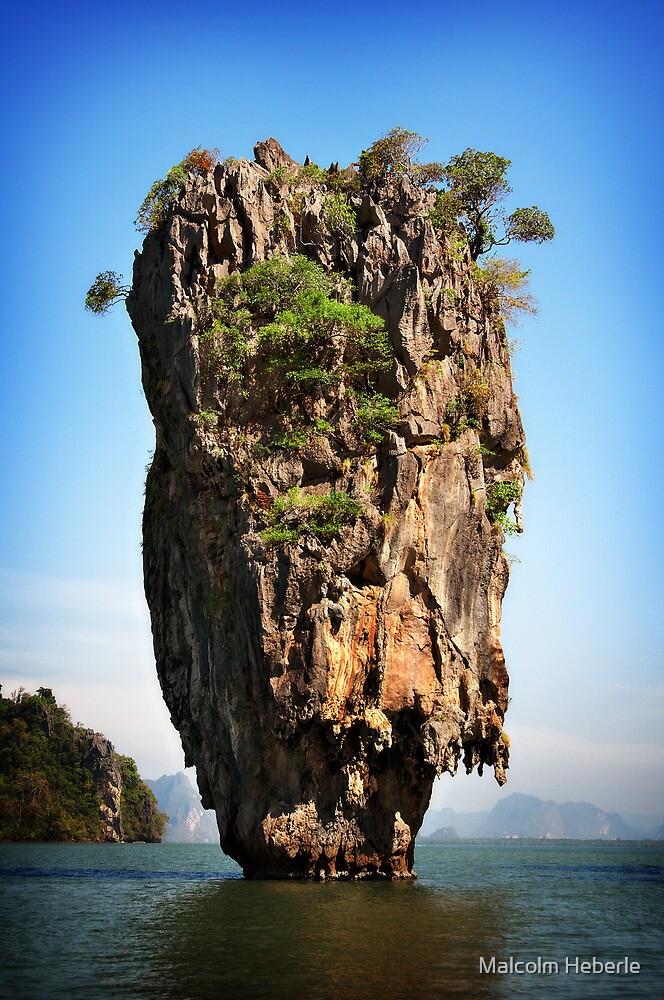 James Bond Island - Phuket - Thailand by Malcolm Heberle