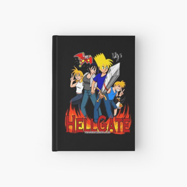 Hell Gate Hardcover Journal