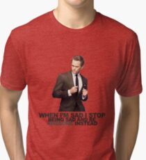 The Awesomeness that is Barney Stinson Tri-blend T-Shirt