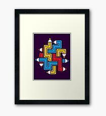 LINEAR CREATION Framed Print