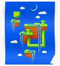 PIXEL ISLANDS Poster