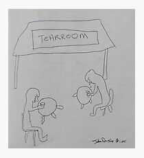 Tearroom Photographic Print