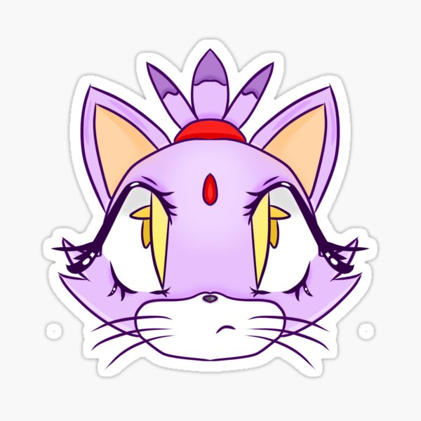 Sexy blaze the cat From Friends