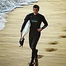 Surfer at Jan Juc by Darren Stones