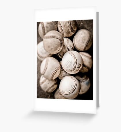 Baseball Collection Greeting Card