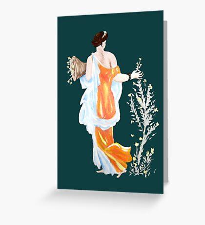 Primavera- Spring Greeting Card