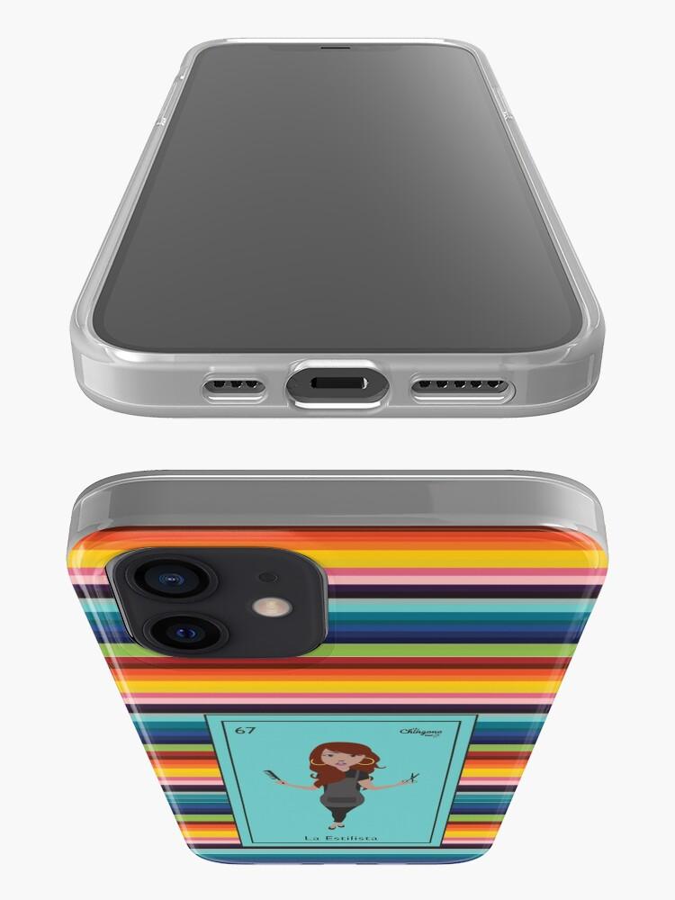 Alternate view of La Estilista iPhone Case
