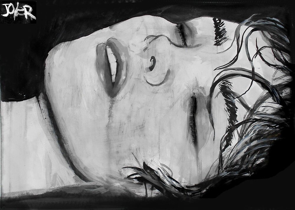 the sleep of melancholy  by Loui  Jover