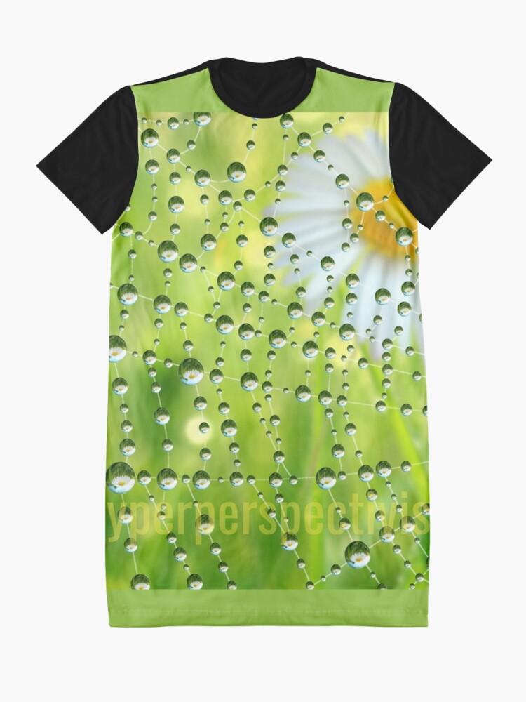 Alternate view of #hyperperspectivism Graphic T-Shirt Dress