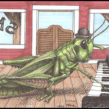 Grasshopper by Kandeart