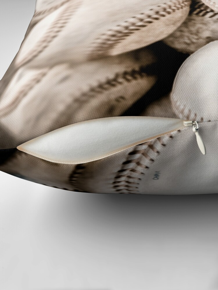 Alternate view of Baseball Collection Throw Pillow