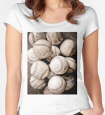 Baseball Collection Women's Fitted Scoop T-Shirt