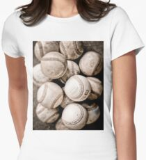 Baseball Collection Women's Fitted T-Shirt