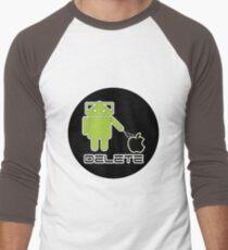 Cyberdroids - Delete Men's Baseball ¾ T-Shirt