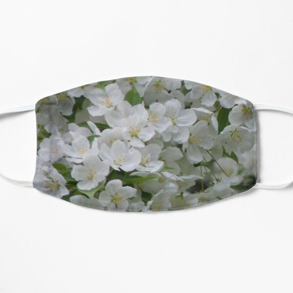 Fleurs de pommier Masque sans plis