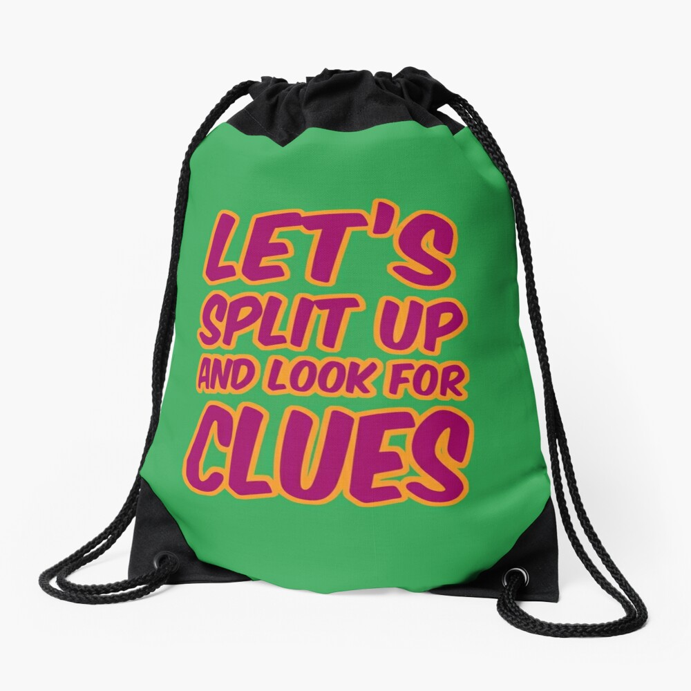 Lets-Split-Up Drawstring Bag