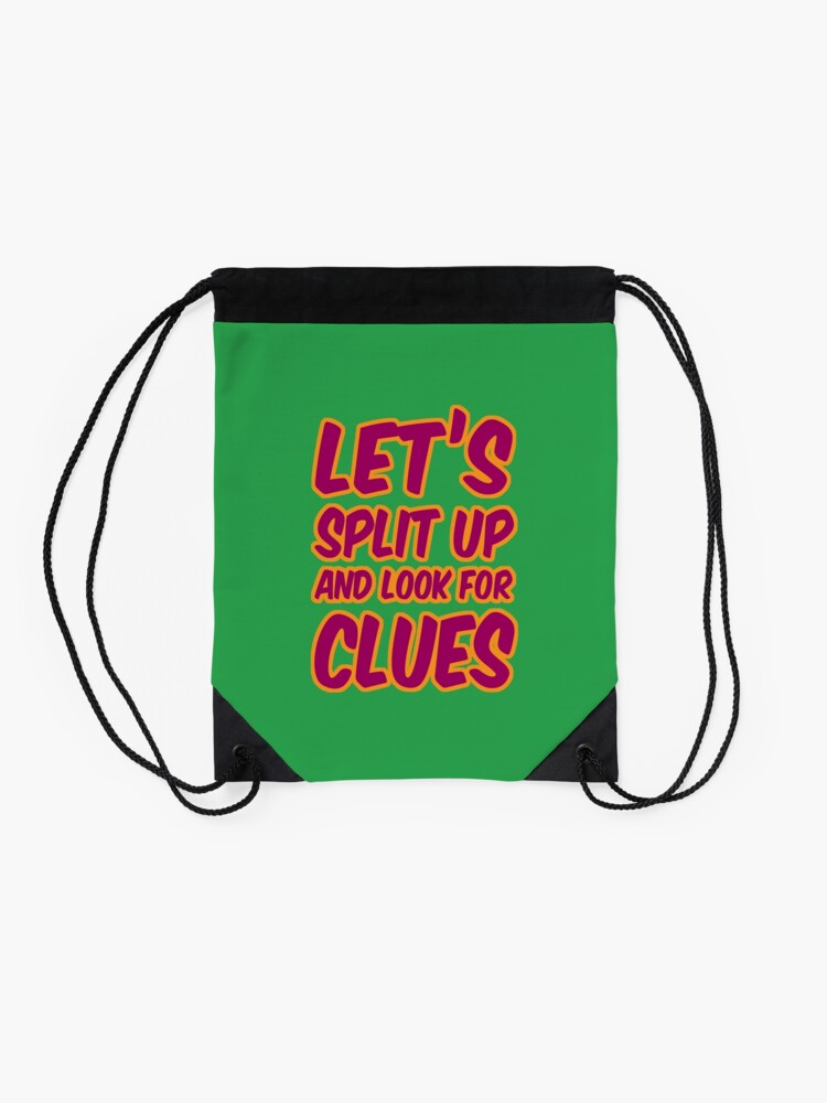 Alternate view of Lets-Split-Up Drawstring Bag