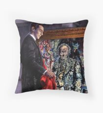 Dorian Gray revisted Throw Pillow