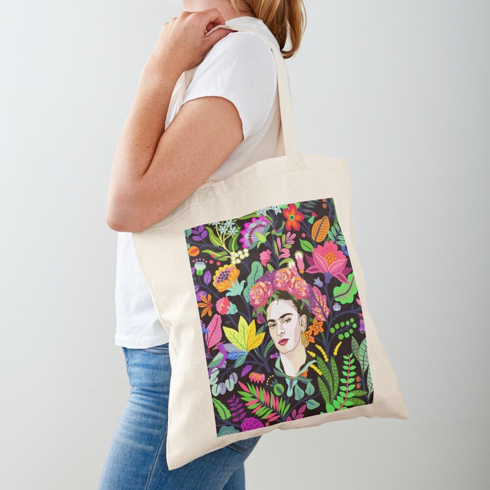 Frida in Bloom Tote Bag