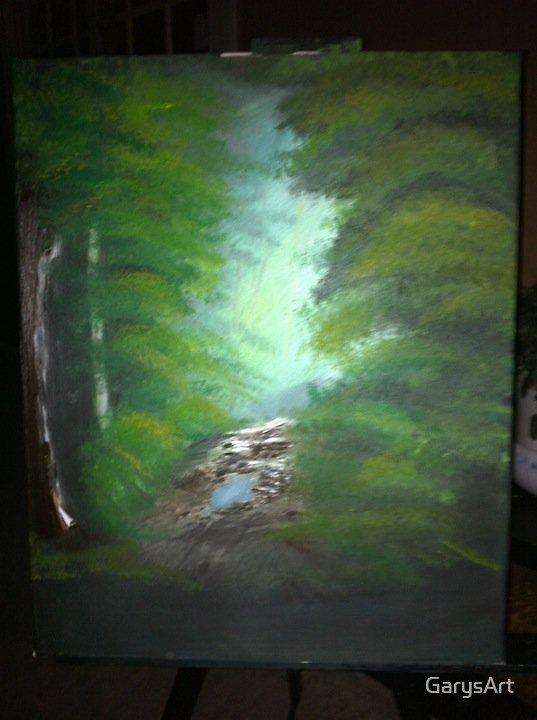 """Morning Light"" Oil Painting by Gary Goza by GarysArt"