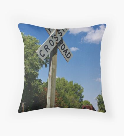 Summer Crossing Throw Pillow