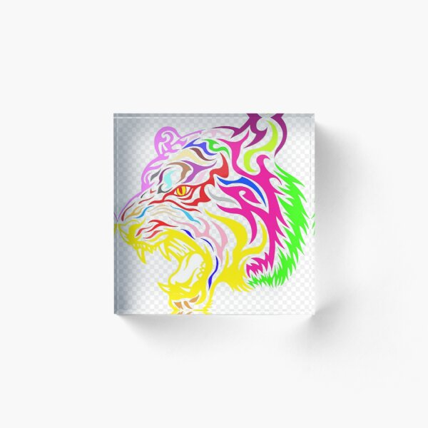 Tiger Pride Acrylic Block
