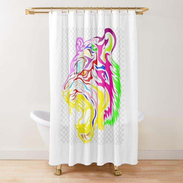 Tiger Pride Shower Curtain