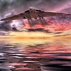 Vulcan Farewell by Colin  Williams Photography