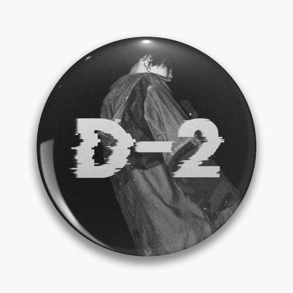 D-2 Album Cover (Agust D) Pin