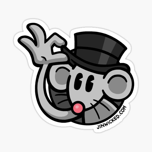 OFFICIAL Jin Wicked Logo Sticker
