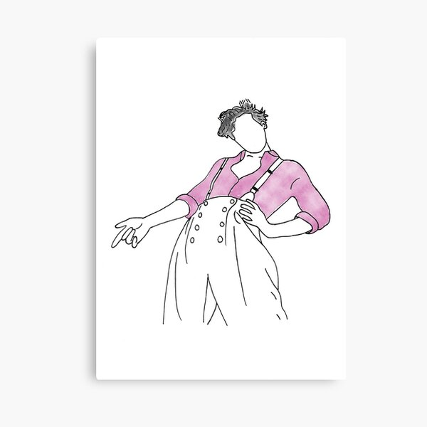 Harry Styles Fine Line Art Cover Canvas Print By Kubaroo Redbubble