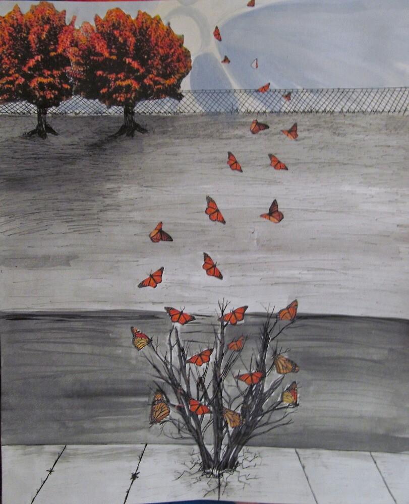 Autumn Butterflies by freestarofthec
