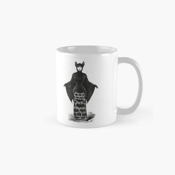 Victorian Bat Woman | Victorian Halloween Costume | Victorian Bat Costume | Classic Mug